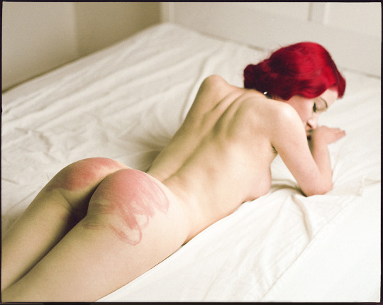redhead with a red bottom